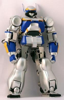 Robot a pilas