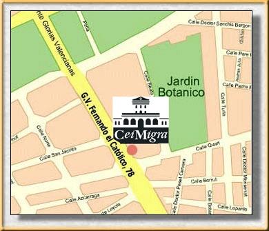 Mapa CeiM (Junto al Jardin Botánico)